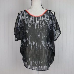 Express Cold Shoulder Blouse Size Small
